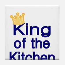 King of the Kitchen Tile Coaster