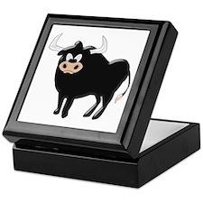 Black Bull Keepsake Box