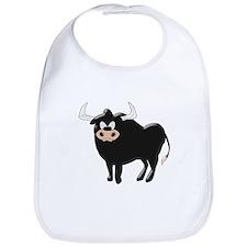 Black Bull Bib