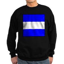 Nautical Flag Code Juliet Sweatshirt