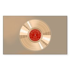 Gold Record Decal