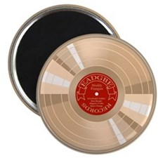 "Gold Record 2.25"" Magnet (100 pack)"