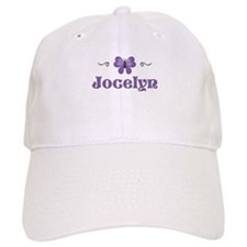 Purple Butterfly - Jocelyn Baseball Cap