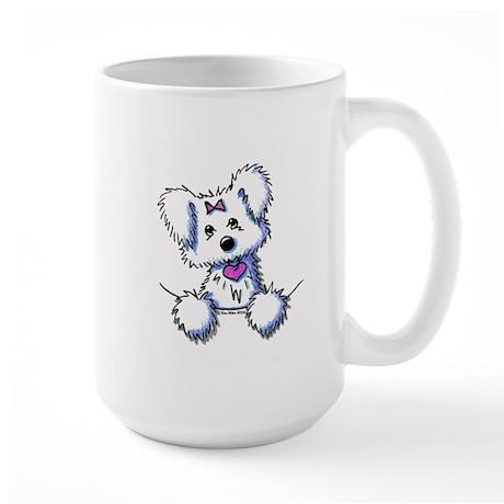 Pocket Maltese Large Mug