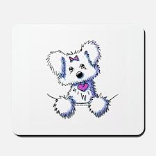 Pocket Maltese Mousepad