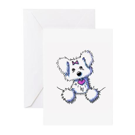 Pocket Maltese Greeting Cards (Pk of 10)
