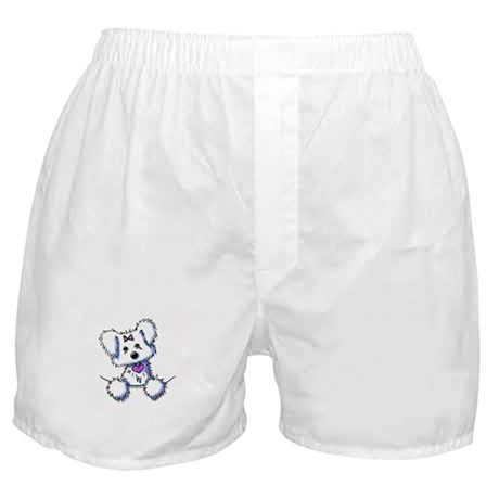 Pocket Maltese Boxer Shorts