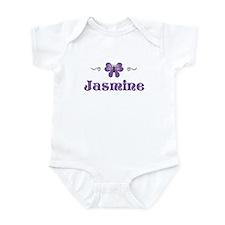 Purple Butterfly - Jasmine Infant Bodysuit