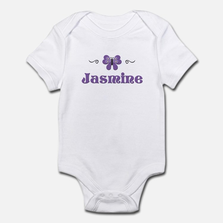 Purple Butterfly - Jasmine Infant Bodysuit