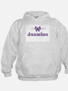Purple Butterfly - Jasmine Hoodie