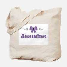 Purple Butterfly - Jasmine Tote Bag