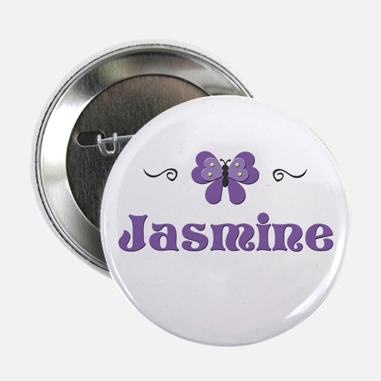 Purple Butterfly - Jasmine Button