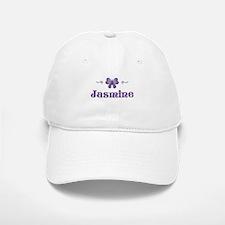 Purple Butterfly - Jasmine Baseball Baseball Cap