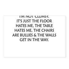 IM NOT CLUMSY Postcards (Package of 8)