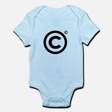 Copyrighted Copyright Symbol Body Suit
