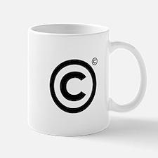 Copyrighted Copyright Symbol Mug