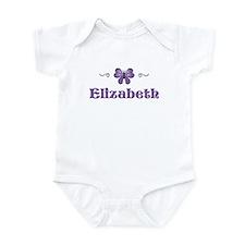 Purple Butterfly - Elizabeth Infant Bodysuit
