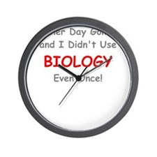ANOTHER DAY GONE BY AND I DIDNT USE BIOLOGY EVEN O