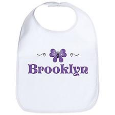 Purple Butterfly - Brooklyn Bib