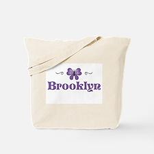 Purple Butterfly - Brooklyn Tote Bag