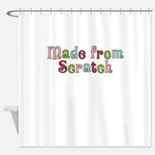 MADE FROM SCRATCH Shower Curtain