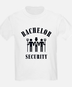 Bachelor Security (Stag Night / Black) T-Shirt