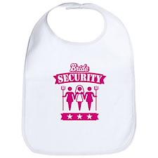 Bride Security (Hen Party / Pink) Bib