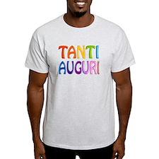 TANTI AUGURI (ITALIAN HAPPY BIRTHDAY) 3D LIKE COLO