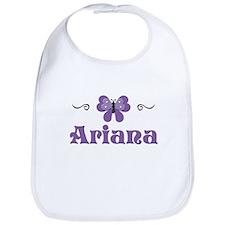 Purple Butterfly - Ariana Bib