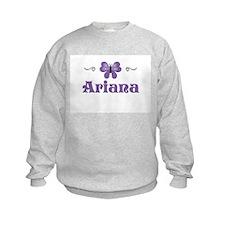 Purple Butterfly - Ariana Sweatshirt