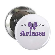 Purple Butterfly - Ariana Button