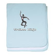 Trainee Ninja baby blanket