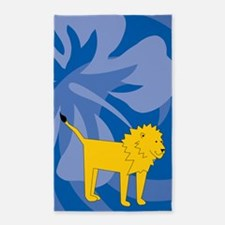 Lion 3'x5' Area Rug