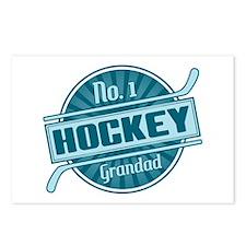 No. 1 Hockey Grandad Postcards (Package of 8)