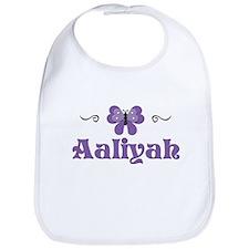 Purple Butterfly - Aaliyah Bib