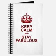 Keep Calm and Stay Fabulous Journal