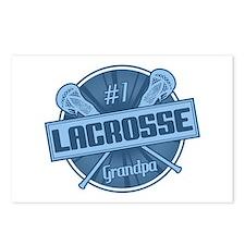 #1 Lacrosse Grandpa Postcards (Package of 8)