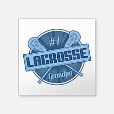 #1 Lacrosse Grandpa Sticker