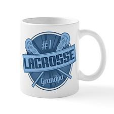 #1 Lacrosse Grandpa Mug
