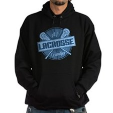 #1 Lacrosse Grandpa Hoodie