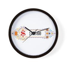 1 000 000 Dollars 2 Wall Clock