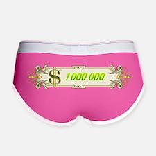 1 000 000 Dollars 4 Women's Boy Brief