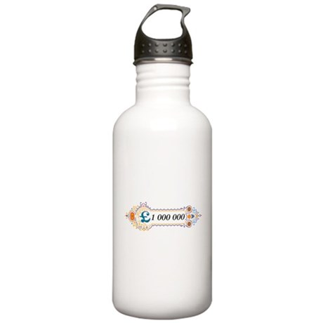 1 000 000 Pounds 2 Water Bottle