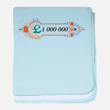 1 000 000 Pounds 2 baby blanket