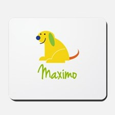 Maximo Loves Puppies Mousepad