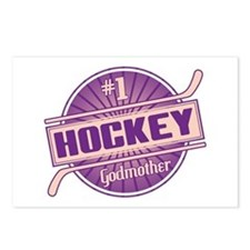 #1 Hockey Godmother Postcards (Package of 8)