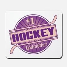 #1 Hockey Godmother Mousepad