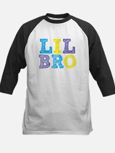"Sketch Style ""Lil Bro"" Kids Baseball Jersey"