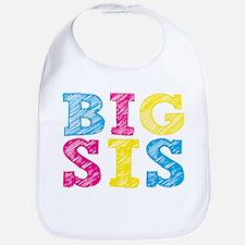 "Colorful ""Big Sis"" Bib"