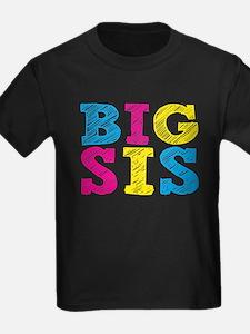 "Colorful ""Big Sis"" T"